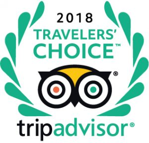 2018 TripAdvisor Traveler's Choice Award