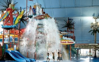 Fallsview Indoor Waterpark Tipping Bucket