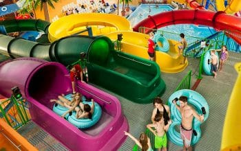 Fallsview Indoor Waterpark Tube Tower