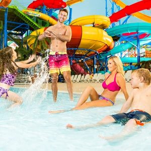 Fallsview Indoor Waterpark Family
