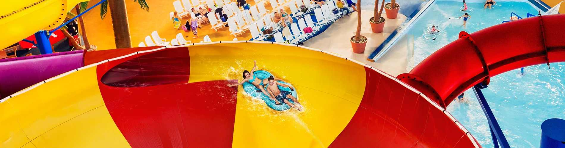 Fallsview Indoor Waterpark Plunge Bowl