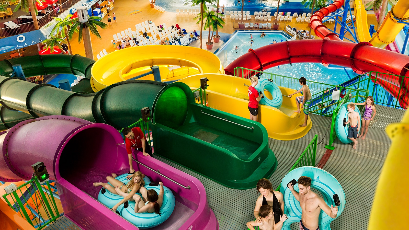 Niagara Falls Hotel And Waterpark Fallsview Indoor Waterpark