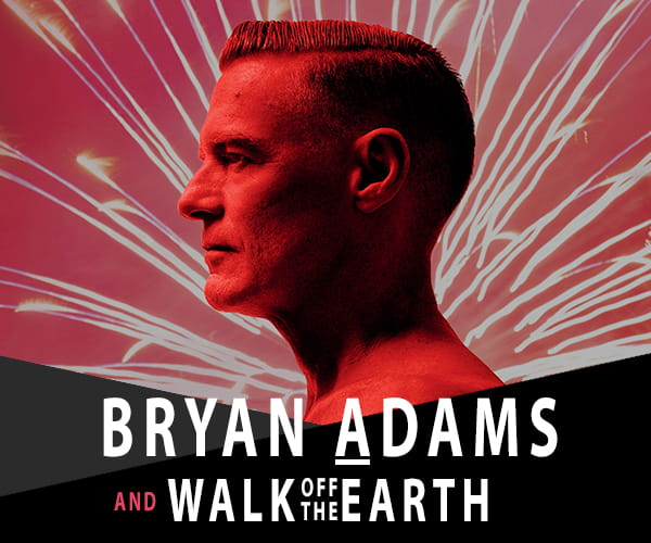 Bryan Adams to play New year's Eve in Niagara Falls