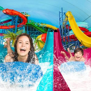 Fallsview Indoor Waterpark Slides